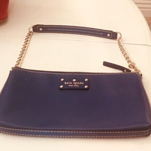 New KATE SPADE purse with polka dot pinning
